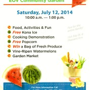 East Ocean View Community Garden Watermelon Festival 2014